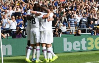 Chelsea'den 5 gollü galibiyet
