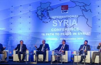 CHP'den 'Uluslararası Suriye Konferansı'