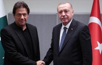 Pakistan Başbakanı Han'dan Erdoğan'a 'Keşmir' teşekkürü
