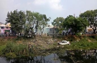 Havai fişek fabrikasında patlama: Çok sayıda ölü var
