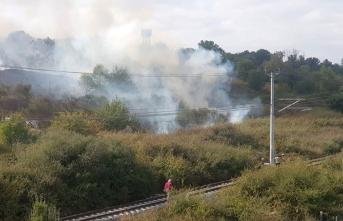 İstanbul'da Nükleer Araştırma Merkezi'nde  yangın