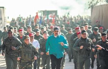 Maduro orduya talimatı verdi: Hazır olun!