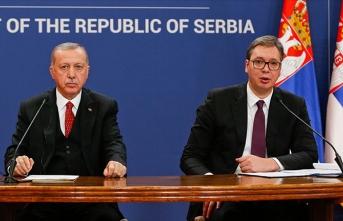 Erdoğan: Sırbistan ile tarihi bir adım atıyoruz
