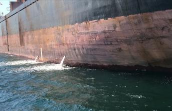 İzmit Körfezi'ni kirleten gemiye rekor ceza!