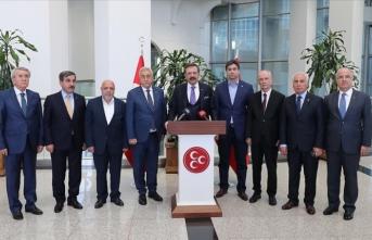 MHP Genel Başkanı Bahçeli iş dünyası temsilcilerini kabul etti