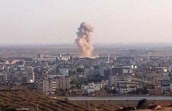 Türkiye - Suriye sınırında şiddetli patlama