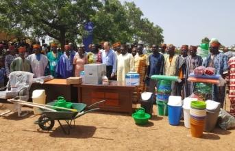 Burkina Faso'da okulların hijyen eğitimine TİKA desteği