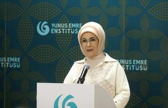 Emine Erdoğan YEE Türk Kültür Merkezini açtı