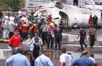 İş adamlarının bulunduğu, altın taşıdığı iddia edilen uçak düştü