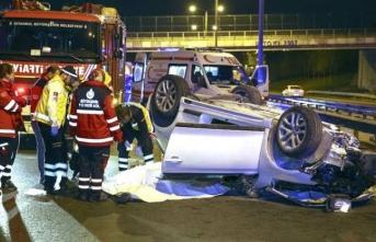 İstanbul'da feci kaza! Ölüler var..