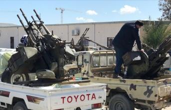 Libya başkanlık konseyine saldırı