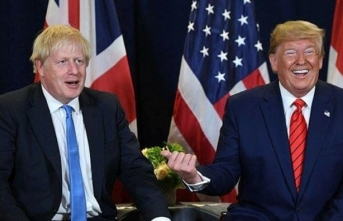 Trump'tan Johnson'a kutlama