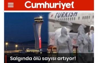 Cumhuriyet Gazetesi'nden skandal: Türkiye'yi hedef aldı!