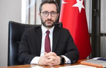 İletişim Başkanı Altun'dan sokağa çıkma yasağı açıklaması