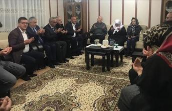 İçişleri Bakanı Soylu'dan Isparta'da taziye ziyareti