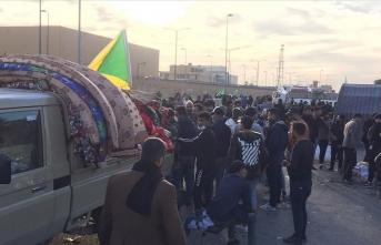 Şii milisler ABD Büyükelçiliği önünden çekilmeye başladı