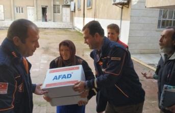 Suriyeli Hristiyan ailelere gıda ve temizlik malzemesi yardımı