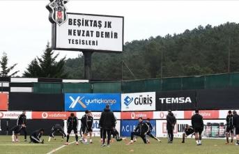 Beşiktaş, Medipol Başakşehir maçının hazırlıklarını tamamladı