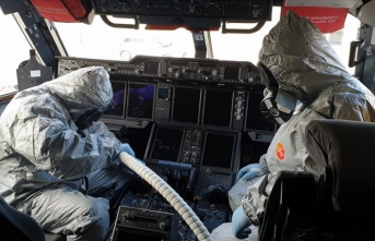 'Çin'den gelen yolcu uçağını arıtma işlemleri tamamlandı'