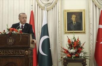 Cumhurbaşkanı Erdoğan'dan 'Keşmir' vurgusu