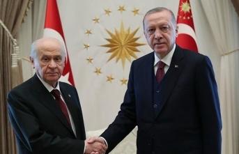 Erdoğan ile Bahçeli arasında önemli görüşme!