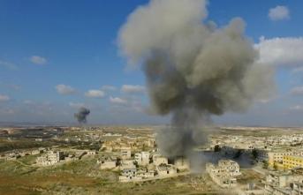 Esed İdlib'e saldırdı: Çok sayıda çocuk öldü