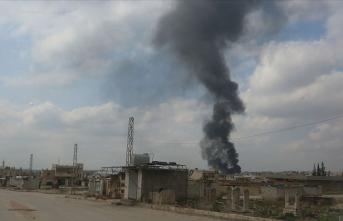 Esed sivilleri taşıyan aracı hedef aldı: Çok sayıda ölü var!