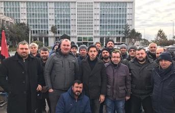 İBB'de işten çıkarılan işçilerin hak mücadelesi sürüyor