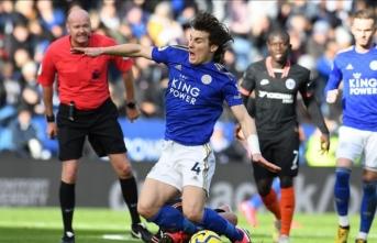 Leicester City ile Chelsea yenişemedi