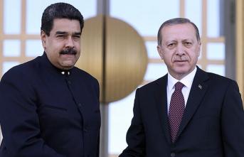Maduro'dan Türkiye'ye 'Van ve Sabiha Gökçen' mesajı