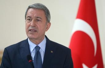 Bakan Akar: Kırım'ın ilhakını tanımadık, tanımayacağız