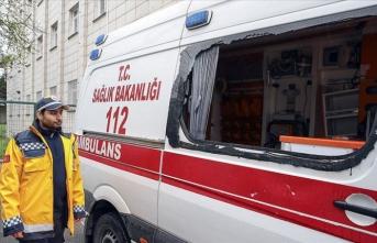 Ambulansa saldıran zanlılar tutuklandı