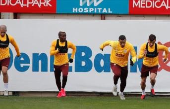 Galatasaray'da bugün yapılması planlanan antrenman iptal edildi