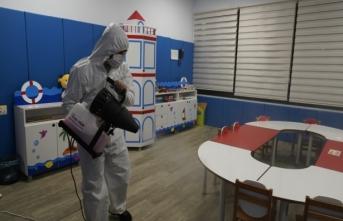 Gaziantep Büyükşehir Belediyesinden virüs seferberliği