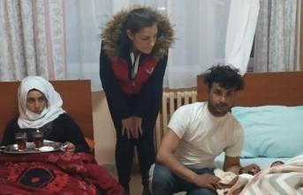 Göç yolunda doğdu, Türkiye sahip çıktı!