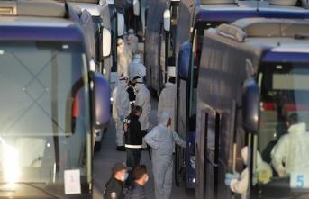 Havalimanında mahsur kalan yabancı yolcular Karabük'teki yurda yerleştirildi