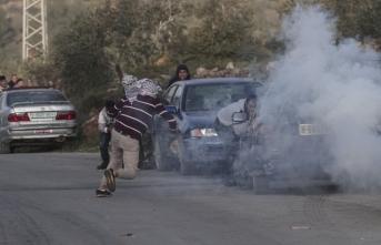 İşgalci İsrail güçleri onlarca Filistinliyi yaraladı!