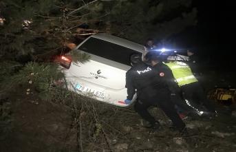 Karabük'te otomobil devrildi: 1 ölü, 3 yaralı