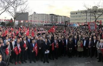 Kocaeli'de 50 STK'den 'Bahar Kalkanı Harekatı'na destek yürüyüşü