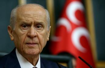 MHP Genel Başkanı Bahçeli: Milli Dayanışma Kampanyası'na 5 maaşımla katılıyorum