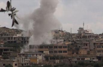 Esed rejiminin İdlib'e saldırısında bir sivil hayatını kaybetti