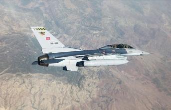Hava harekatında PKK'ya ağır darbe!