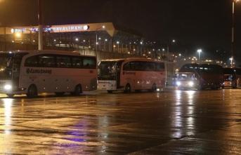 Belçika'dan 328 Türk vatandaşı yurda getirildi