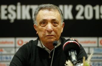 Beşiktaş Kulübü Başkanı Çebi: Hiçbir geri adım atılmayacaktır