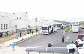 Irak'tan getirilen 200 Türk vatandaşı Mardin'de karantinaya alındı