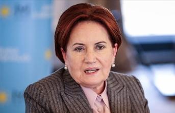 İYİ Parti Genel Başkanı Akşener: Bu zor günler her tür siyasi hesabın üstündedir