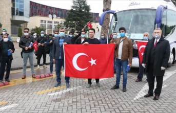 Kosova ve Arnavutluk'taki Türk vatandaşları yurda getiriliyor