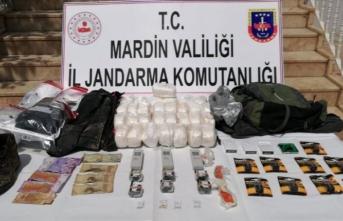 Mardin'de Suriye'den sızmaya çalışan teröristlere operasyon
