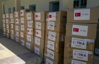 Türkiye'den Tunus'ta Kovid19 ile mücadelede 700 aileye gıda yardımı
