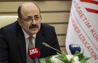 YÖK Başkanı Saraç, rektörlerle koronavirüs sürecini konuştu
